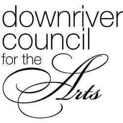 Text - Downriver Council for the Arts logo
