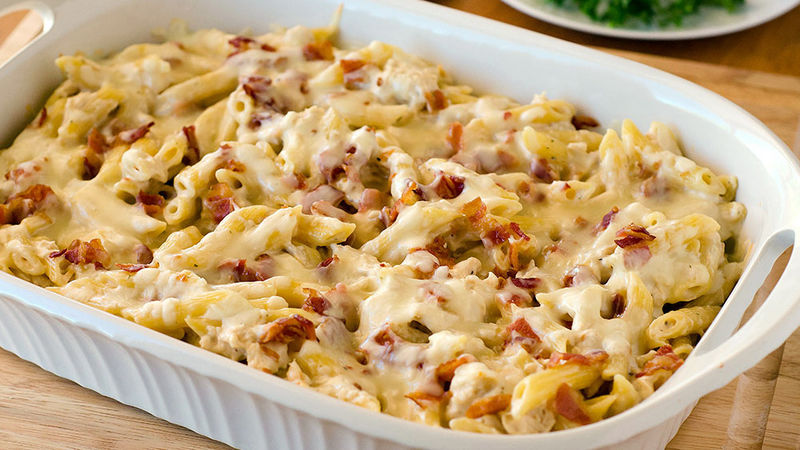 recipe chicken bacon ranch baked penne