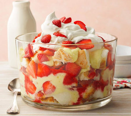 Strawberry-Lemon-Trifle