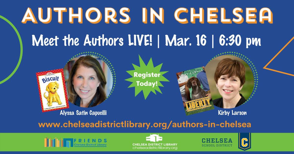Authors in Chelsea: Meet the Authors Live!
